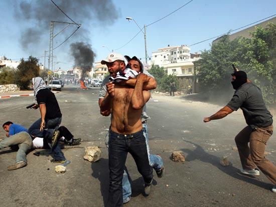 מהומות אום אל פאחם / צלם: רויטרס